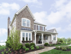 The 3,666-square-foot Thurleston is one of seven floor plans offered at Thornfield Meadows in Hawthorn Woods.